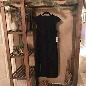 Denim Calf Length Dress